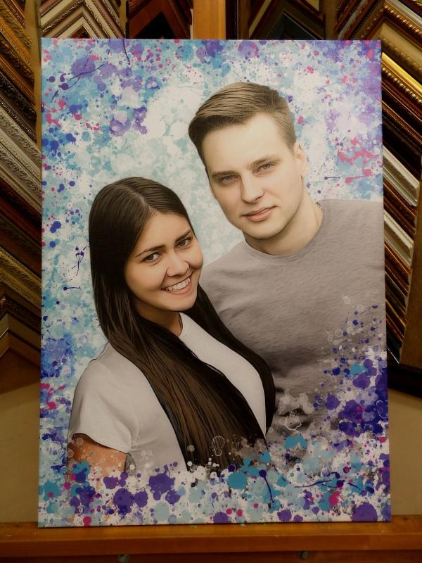 Картина по фотографии на холсте красноярск